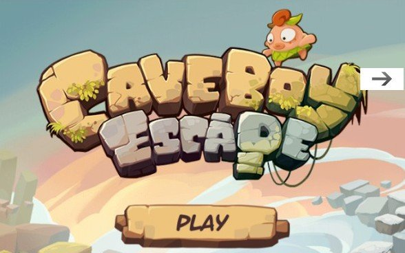 Caveboy Escape - лабиринт