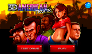 American Great Truck 3D