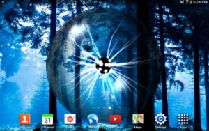 Plasma Orb Live Wallpaper