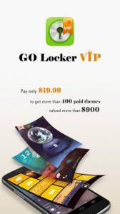 GO Locker VIP