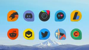 Blackdrop - Icon Pack
