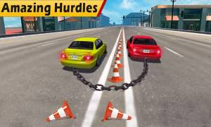 Chained Cars Stunt Race