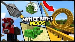 Mods for minecraft - mcpe mods - mcpe addons