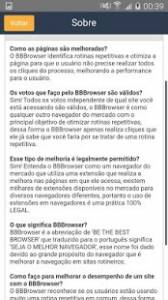 BBBrowser - Vote mais rapidamente!